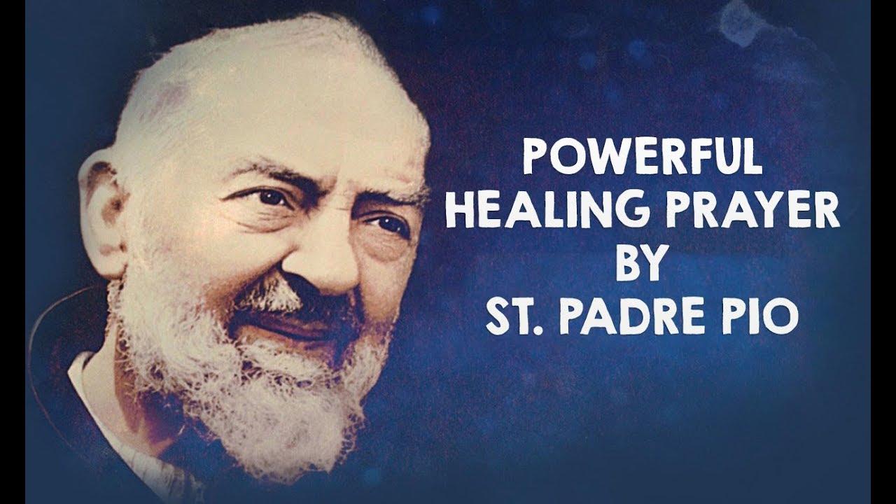 <pre><pre> La oración de sanación más poderosa de San Padre Pío
