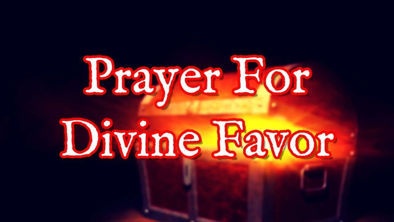 <pre><pre> Oración por el favor divino - Oración por un favor inusual de Dios