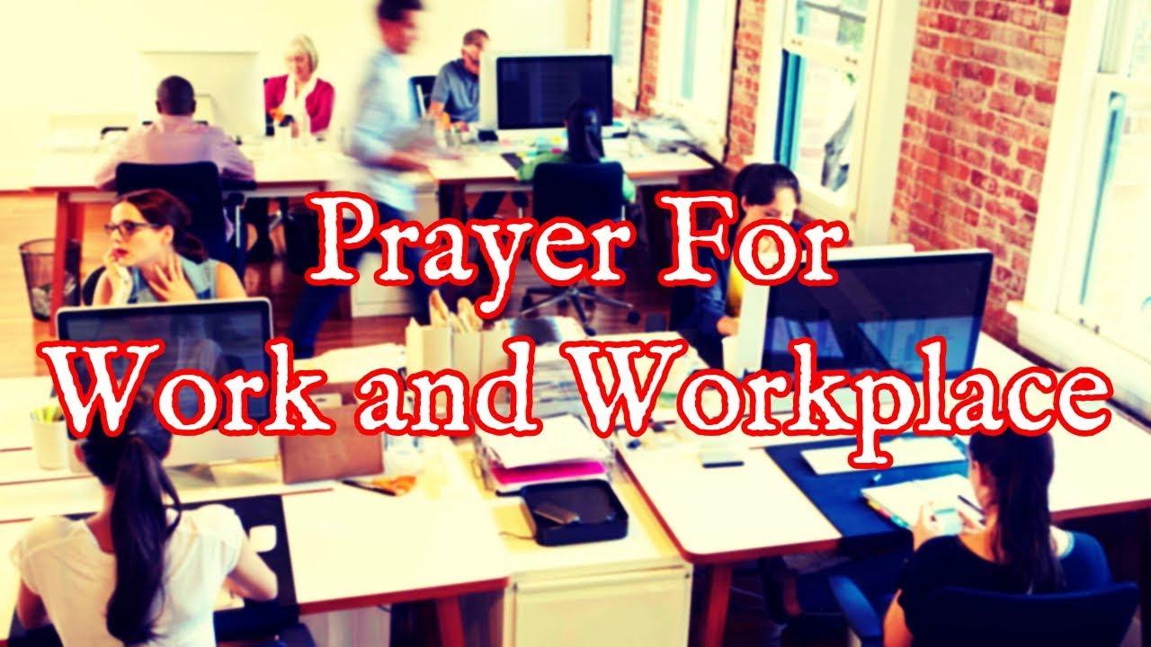 <pre><pre> Oración por el lugar de trabajo - Oración diaria por la mañana para trabajar