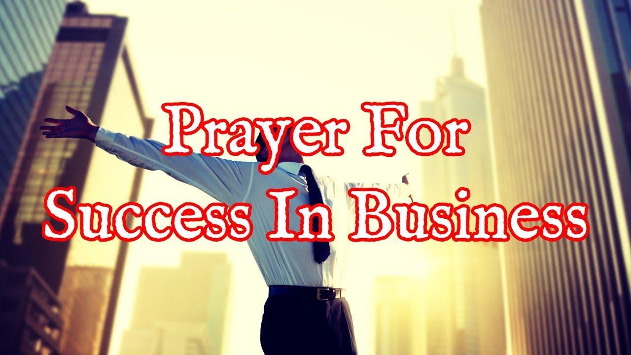 <pre><pre> Oración por el éxito en los negocios - Oración por la abundancia de negocios