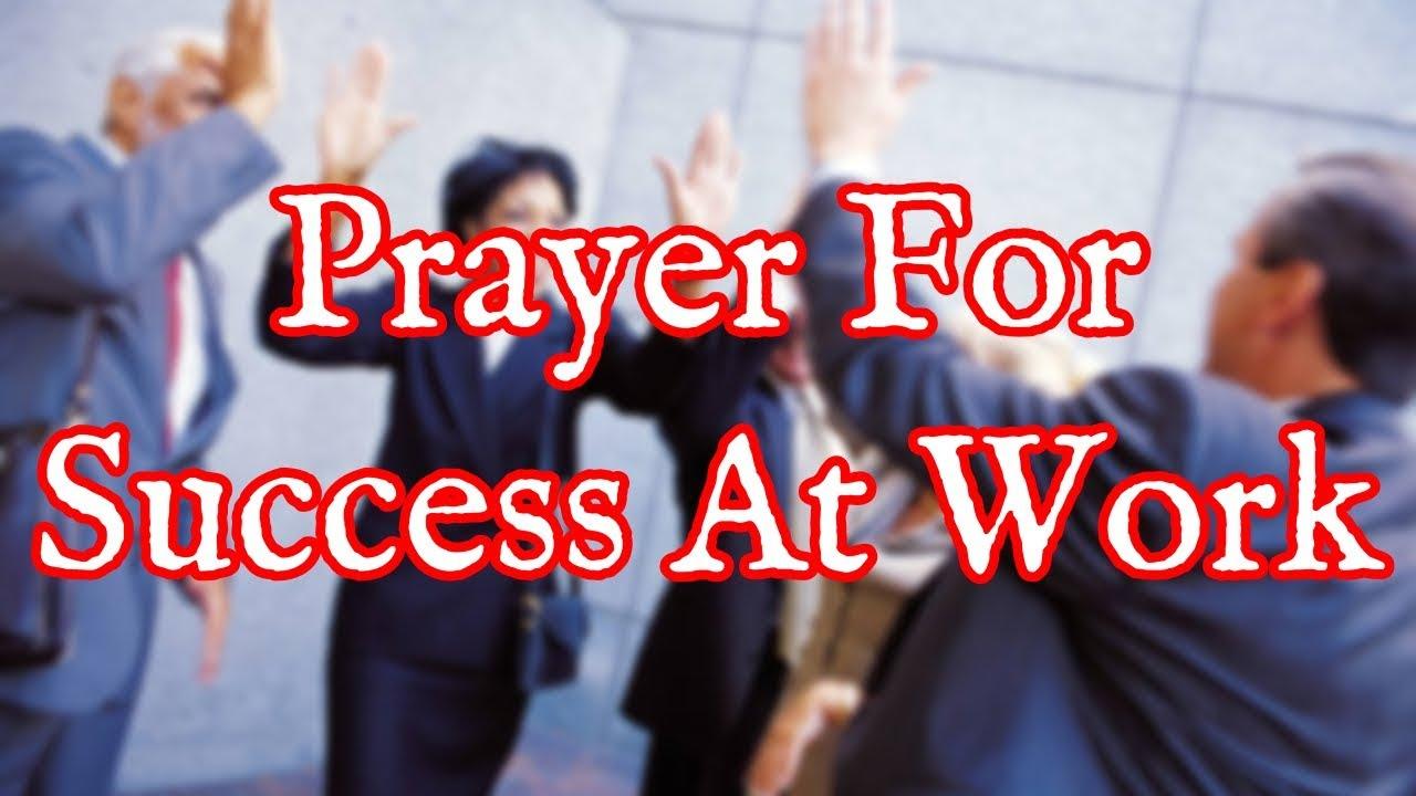 <pre><pre> Oración por el éxito en el trabajo: éxito profesional, favor y promoción