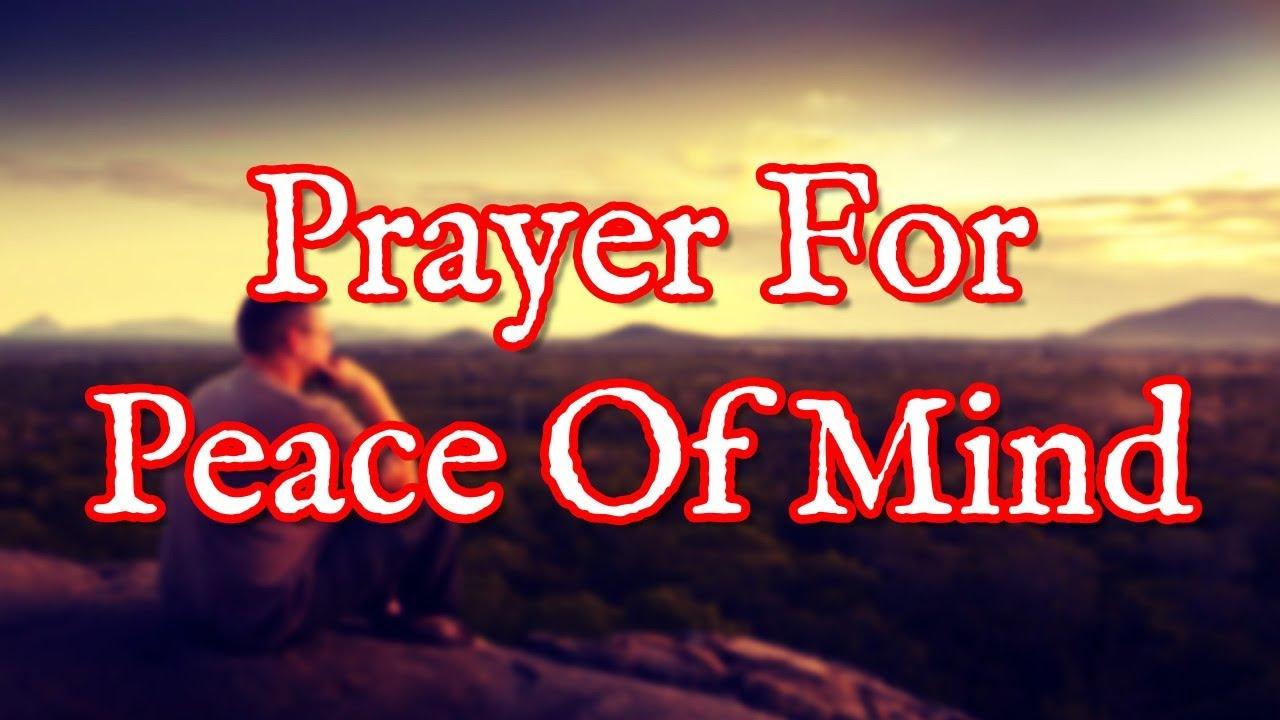 <pre><pre> Oración por la paz mental - Cálmate y relájate