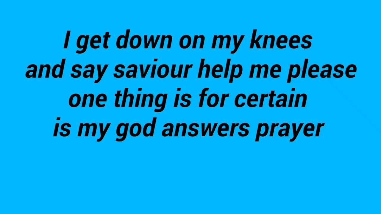 <pre><pre> Da Flame Dios responde a las palabras de la oración