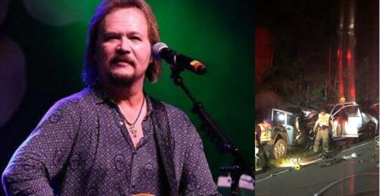 ¡Oraciones arriba! El cantante de country Travis Tritt involucrado en un mortal accidente automovilístico.