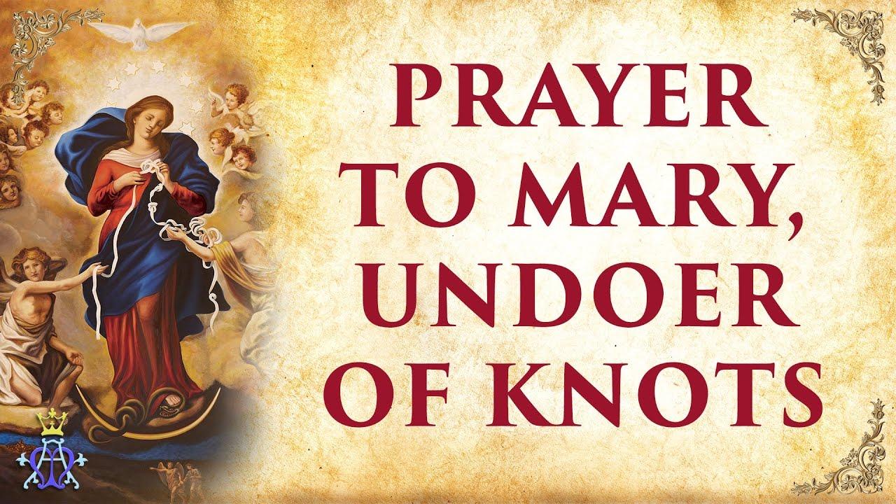 <pre><pre> Oración a Mary, Knot Diver