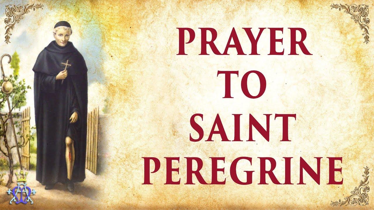 <pre><pre> Oración a San Peregrino