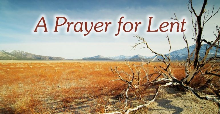 Oración por la Cuaresma en 2019